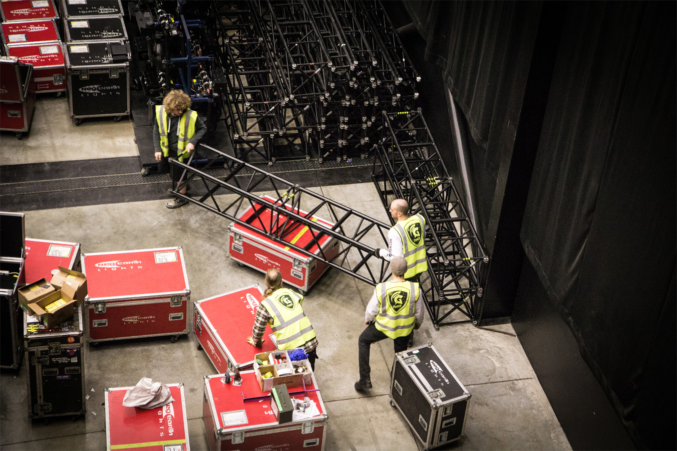 Moving Truss